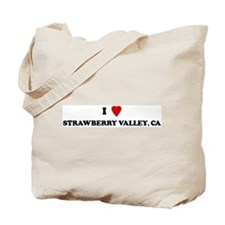 I Love STRAWBERRY VALLEY Tote Bag