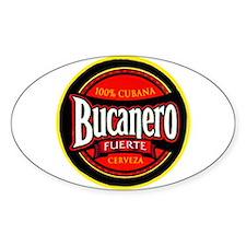 Cuba Beer Label 5 Decal