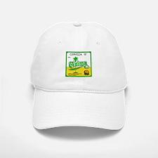 Cuba Beer Label 3 Baseball Baseball Cap