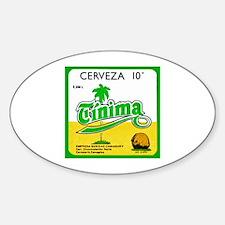 Cuba Beer Label 3 Decal