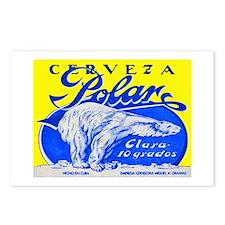 Cuba Beer Label 2 Postcards (Package of 8)
