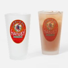Cuba Beer Label 1 Drinking Glass