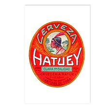 Cuba Beer Label 1 Postcards (Package of 8)