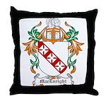 MacEnright Coat of Arms Throw Pillow