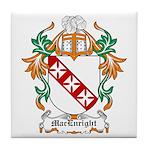 MacEnright Coat of Arms Tile Coaster