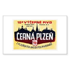 Czech Beer Label 12 Decal