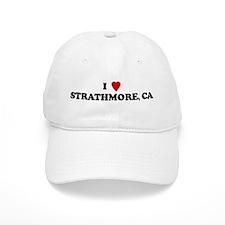 I Love STRATHMORE Baseball Cap