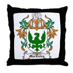 MacEniry Coat of Arms Throw Pillow