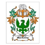 MacEniry Coat of Arms Small Poster