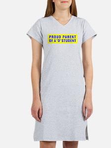 PROUD PARENT OF A D STUDENT Women's Nightshirt