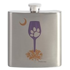 3-clemson purple.png Flask