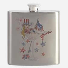 4th of July Martini.png Flask