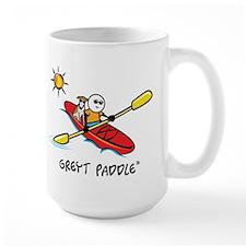 GreytPaddle_centered Mugs