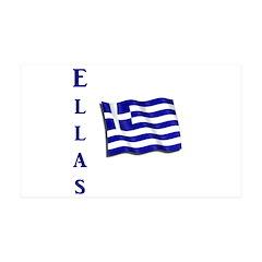 Ellas - Flag Wall Decal