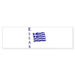 Ellas - Flag Bumper Sticker