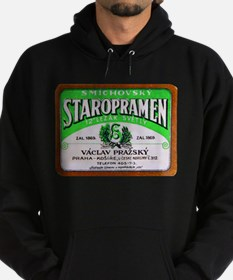 Czech Beer Label 11 Hoodie (dark)