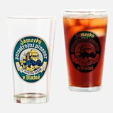 Czech Beer Label 10 Drinking Glass