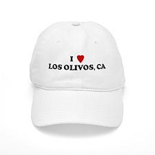 I Love LOS OLIVOS Baseball Cap