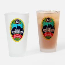 Czech Beer Label 9 Drinking Glass