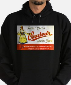 Czech Beer Label 8 Hoodie (dark)