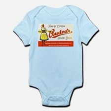 Czech Beer Label 8 Infant Bodysuit