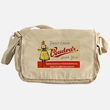 Czech Beer Label 8 Messenger Bag