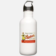 Czech Beer Label 8 Water Bottle