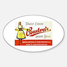 Czech Beer Label 8 Decal