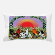 Farm Animals Pillow Case