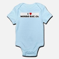 I Love MORRO BAY Infant Creeper