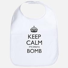 Keep Calm... it's only a Bomb Bib