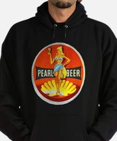 Czech Beer Label 5 Hoodie (dark)