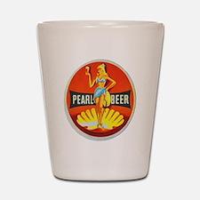 Czech Beer Label 5 Shot Glass