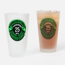Czech Beer Label 3 Drinking Glass