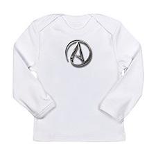 International Atheism Symbol Long Sleeve Infant T-