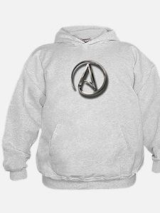 International Atheism Symbol Hoodie
