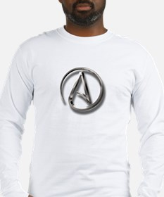 International Atheism Symbol Long Sleeve T-Shirt