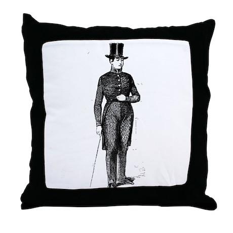 DapperDan Throw Pillow