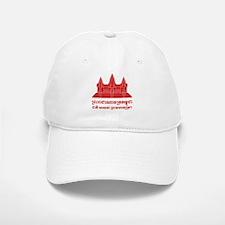 Angkor Wat / Khmer / Cambodian Flag with Motto Baseball Baseball Cap