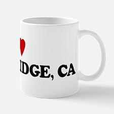 I Love NORTHRIDGE Mug