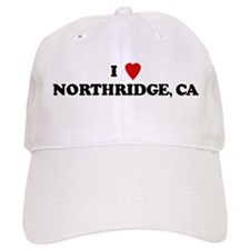 I Love NORTHRIDGE Baseball Cap