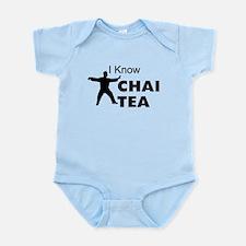 I know Chai Tea Infant Bodysuit