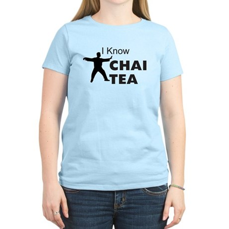 I know Chai Tea Women's Light T-Shirt