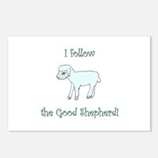 I follow the Good Shepherd Postcards (Package of 8