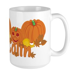 Halloween Pumpkin Colin Mug