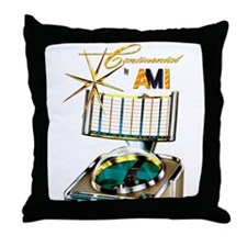Continential by AMI Throw Pillow