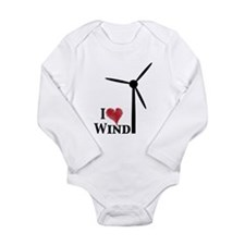 Cute Oil spill Long Sleeve Infant Bodysuit