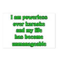 Powerless over Karaoke Postcards (Package of 8)