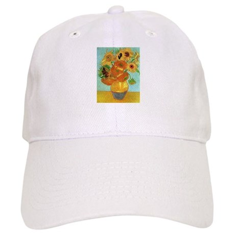 Van Gogh Twelve Sunflowers Cap
