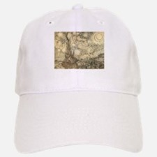 Van Gogh Starry Night Drawing Baseball Baseball Cap